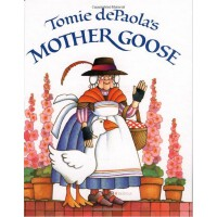 Tomie dePaola's Mother Goose [Hardcover] 汤米・狄波拉的鹅妈妈童谣(精装)IS