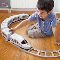 轨道小火车玩具男女孩电动轨道车模型套装汽车幼儿童玩具车3-4岁6kb6