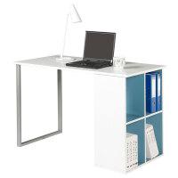 好事达 书桌办公电脑桌带书架学生学习桌子1241