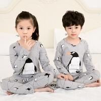 儿童睡衣长袖春秋季薄款男童中大女童小孩家居服宝宝套装