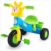 爱婴乐 儿童三轮车脚踏车 童车宝宝学步手推车自行车带储物篮子1-3岁小孩儿童玩具