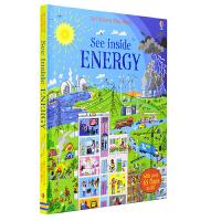 Usborne See Inside Energy 看里面能量 科普翻翻纸板书英语版 儿童英文原版图书进口