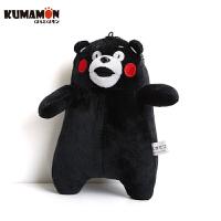日本正版 酷MA萌KUMAMON 熊本熊吊饰包包挂饰 小号毛绒公仔手抓玩偶 GZ1130