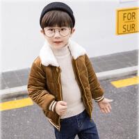 男童秋冬装棉衣外套男宝宝小男孩棉袄短款潮