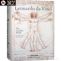 Leonardo da Vinci. The Graphic Work莱昂纳多.达芬奇:平面作品 英文原版 达芬奇手稿