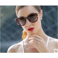 大框气质防紫外线防晒眼镜潮人开车眼镜偏光太阳镜女士猫眼复古墨镜