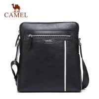 Camel/骆驼男包男士单肩包商务休闲牛皮男斜挎包背包青年包包