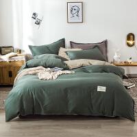 【每满100减50】北欧风四件套纯棉被套网红款床单1.5m/1.8米床全棉床上用品双人家用