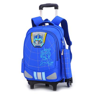 拉杆书包小学生男六轮3-6年级防水护脊减负儿童双肩书包8-12周岁 发货周期:一般在付款后2-90天左右发货,具体发货时间请以与客服协商的时间为准