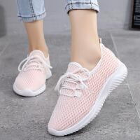 老北京布鞋女鞋春夏季一脚蹬休闲运动女鞋透气网鞋轻便女士单布鞋