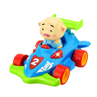 自动转弯灯光音乐遥控汽车四驱车赛车男孩跑车