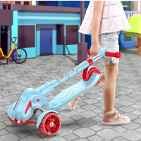 儿童滑板车1-2-3-6-12岁小孩宝宝三合一单脚踏板滑滑溜溜车