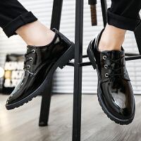 2018新款男鞋子韩版潮流英伦百搭商务休闲皮鞋男鞋秋季男正装皮鞋