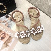 同款凉鞋仙女风凉鞋女学生2019夏季新款女鞋百搭鞋平底厚底