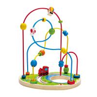 Hape宝宝乐园2-6岁绕珠串珠益智早教玩具婴幼玩具木制E1811