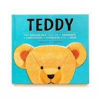 【现货】英文原版 泰迪熊 Lisk Feng插画绘本 精装 Teddy: The Remarkable Tale of