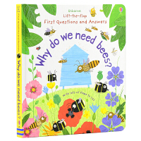 Usborne Lift-the-Flap Why do we need bees 翻翻纸板书 我们为何需要蜜蜂 少儿