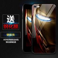 iphone8手�C�ぢ�威死侍�O果7�统鹫呗�盟6s plus玻璃7p蜘蛛�b8p全包玻璃�R面�O果6/7/