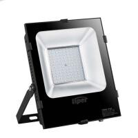 户外防水室外照明球场工地厂房投射灯亮LED投光灯50w100w200w