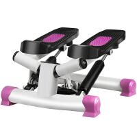 捷�N 静音踏步机家用瘦身减肥运动健身器材免安装液压脚踏机 粉色