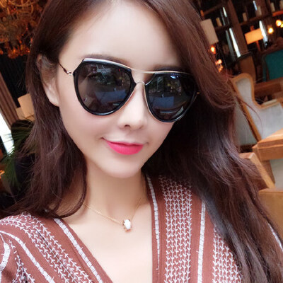 墨镜女潮 复古眼镜 偏光太阳镜女士圆脸时尚眼镜 支持礼品卡支付 品质保证 售后无忧 支持货到付款