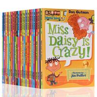 My Weird School 疯狂学校21册合售季 英文原版 1-21 美国小学推荐读物初级章节桥梁漫画书 搞怪的校