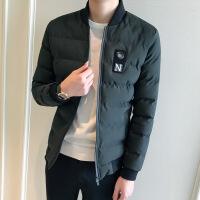 男士棉袄2018冬季新款潮流韩版修身棉衣立领加厚短款秋冬外套
