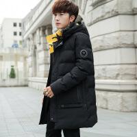 棉衣男士外套中长款2018冬季新款个性冬装棉袄韩版潮加厚羽绒