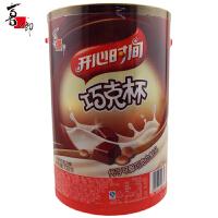 喜之郎 开心时间巧克杯 720g 桶装 代可可脂巧克力饼干