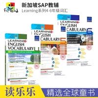 SAP Learning Vocabulary 4-6 小学英语词汇四五六年级练习册 10-12岁 新加坡教辅学习系列