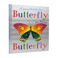 Butterfly Butterfly A Book of Colors Petr Horacek 经典名家绘本 蝴蝶