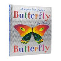 Butterfly Butterfly A Book of Colors Petr Horacek 经典名家绘本 蝴蝶和