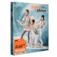SHE S.H.E 玩耍Play 2014再版(CD DVD 赠三叶草贴纸)专辑