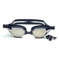 近视游泳眼镜 近视游泳镜 近视泳镜 防水防雾 电镀镜面