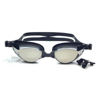 近视游泳眼镜 近视游泳镜 近视泳镜 防水防雾 电镀镜面 品质保证 售后无忧 支持货到付款