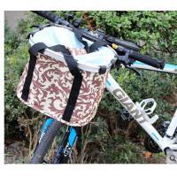 新款自行车篮子便捷式铝合金山地车车框折叠车自行车挂篮骑行配件