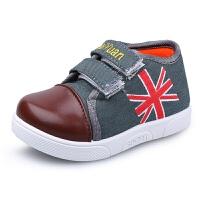 秋婴儿布鞋儿童帆布鞋男童女童球鞋宝宝鞋子小童软底板鞋1-3岁
