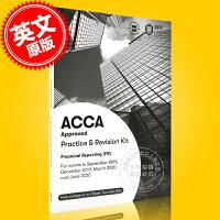 现货 ACCA考试 新版 财务报告 练习册 英文原版 Financial Reporting Practice & R