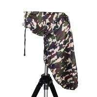 单反相机雨披雨衣户外摄影配件 适用佳能尼康长焦镜头遮雨防水罩户外拍照披布搭配三脚架防风沙伪装