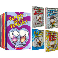 Fly Guy Reader Collection 苍蝇小子 英文原版 5册套装 Tedd Arnold 泰德・阿诺德