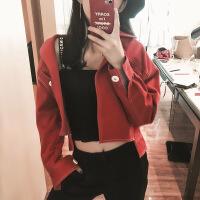 牛仔外套女春秋装新款2017韩版宽松学生短款外套bf上衣春秋季 潮
