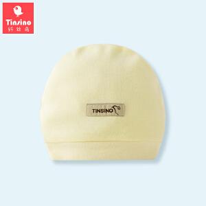 【1件3折价:14.9】纤丝鸟(TINSINO) 新生儿纯棉帽子0-3月婴儿护头胎帽宝宝帽子
