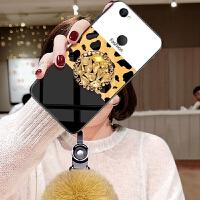 小米MAX2手机壳6.44寸时尚mde40豹纹毛球mlmax镶钻小迷m2秋冬xmmax毛绒硅胶mmx
