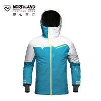 【品牌特惠】诺诗兰NORTHLAND 户外滑雪服男士保暖滑雪衣防水防风衣 GK055807