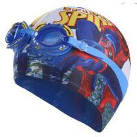 新款儿童泳镜+泳帽 时尚男童女童泳镜泳帽套装 宝宝防雾防水游泳眼镜