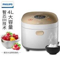飞利浦(Philips)电饭煲 HD4535 家用迷你型电饭煲 智能触控电饭锅 IH电磁加热 4L大容量
