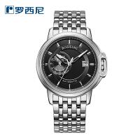 新款罗西尼手表男时尚自动机械男表 正品防水透底男士腕表