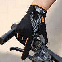 骑行手套男女夏季薄款户外运动骑车开车钓鱼防滑防晒触屏透气全指