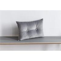 北欧办公室沙发抱枕简约现代靠垫靠枕轻奢丝绒抱枕腰枕头