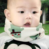 女童围脖套婴儿宝宝秋冬季婴幼儿保暖儿童围巾套头